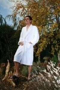 Terry Towelling Bath Robe - Medium, Large or XX Large